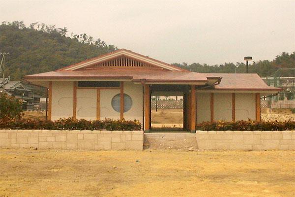 小川公園トイレ1新築工事