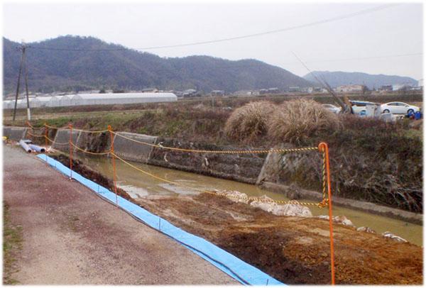 (二)市川水系平田川河川災害復旧工事(1工区)