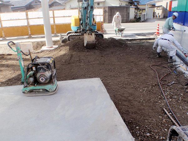 給油タンク・キャノピー改修工事
